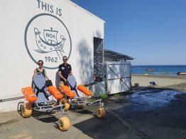 Δύο τροχοκαθίσματα θαλάσσης από την ΕΤΑΛ στο πλαίσιο της Πράξης ΑΝΔΙΚΑΤ